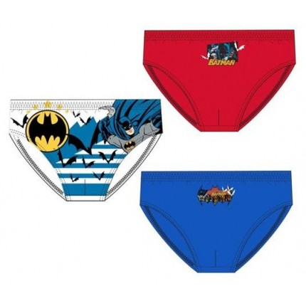 Pack de 3 slips Batman niño