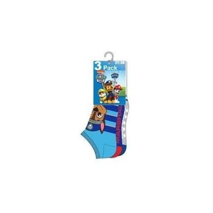 Pack de 3 calcetines Patrulla Canina niño cortos invisibles
