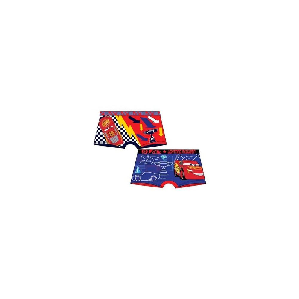 Pack de 2 Boxer Cars Disney niño goma
