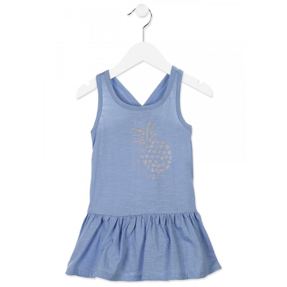 Vestido Losan Kids niña infantil Pineapple tirantes