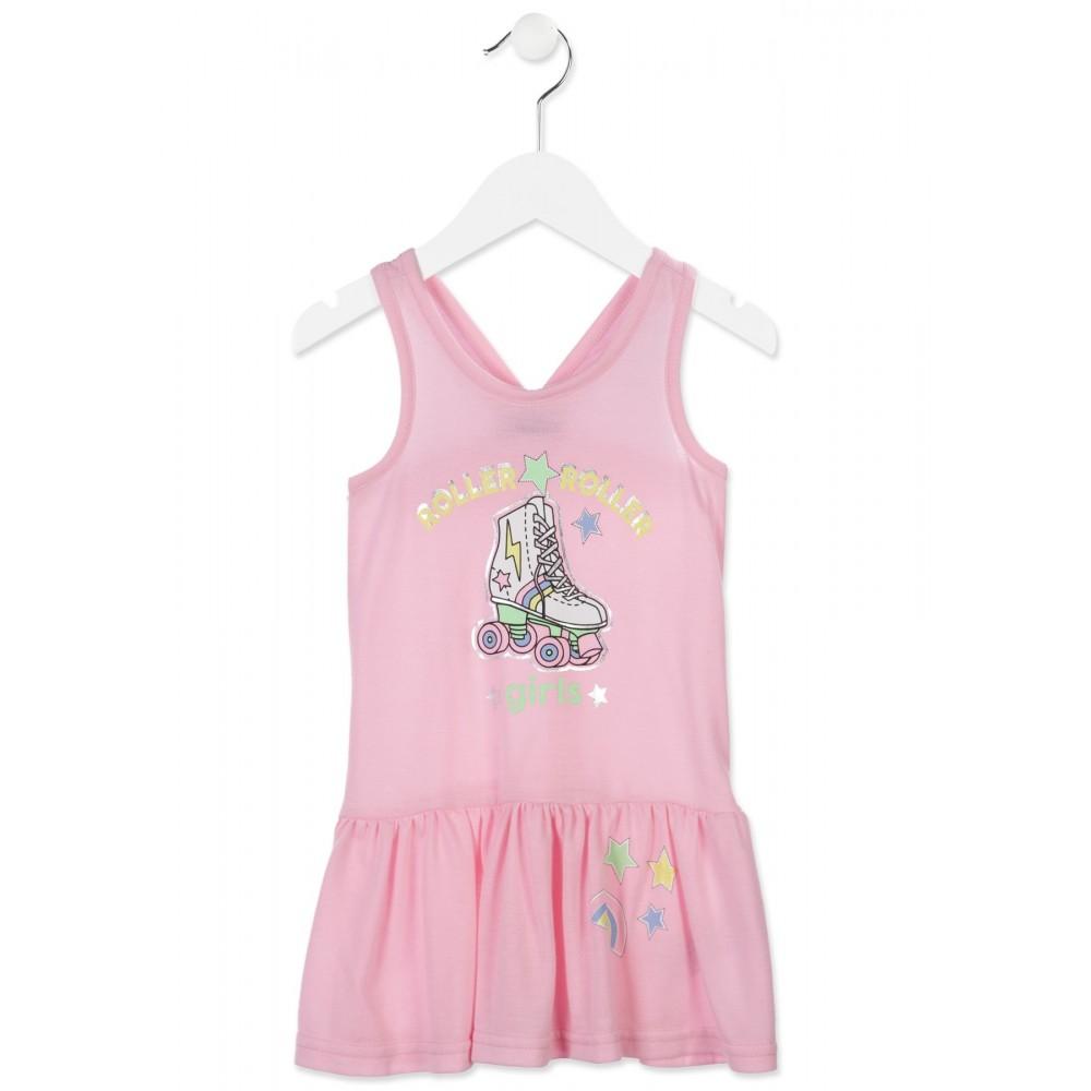 Vestido Losan Kids niña infantil Roller tirantes
